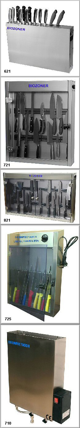 Knife disinfectors